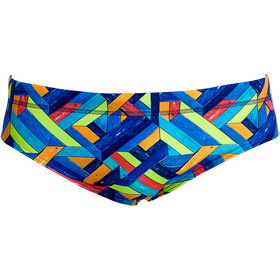 Funky Trunks Classic Bas de maillot de bain Homme, boarded up